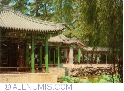 Beijing - Summer Palace (颐和园) - Pavilion heralding spring