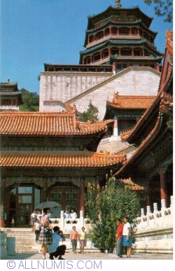 Image #1 of Beijing - Summer Palace (颐和园) - The Pavilion of the fragrance of Budha