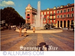Image #1 of Nice - Place Massena and fountain