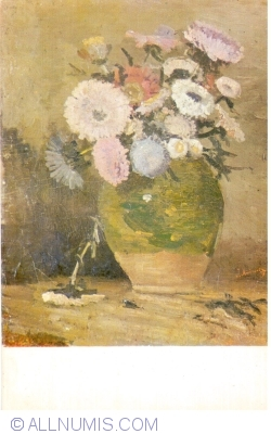 Image #1 of Ioan Andreescu - Flowers in small pitcher