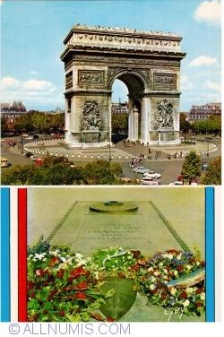 Imaginea #1 a Paris - Arcul de Triumf. Mormântul soldatului necunoscut (L'Arc de Triomphe de l'Étoile et le Tombeau du soldat inconnu)