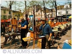 Imaginea #1 a Paris - Montmartre. Place de Tertre. Pictori