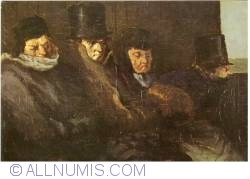 Image #1 of Honoré Daumier - The Second Class-Carriage