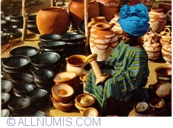 Image #1 of Ilorin - Local pottery in town market