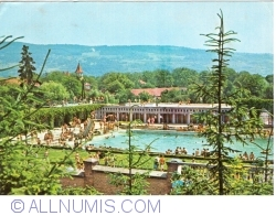 Image #1 of Geoagiu Băi - View of the swimming pool (1974)