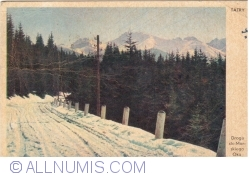 Image #1 of Tatra Mountains - The road to Morskie Oko (1945)