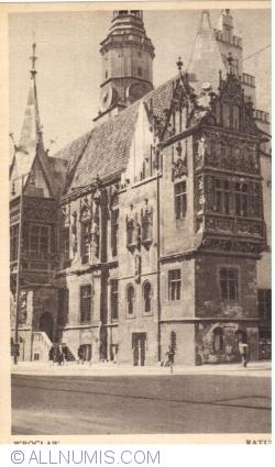 Image #1 of Wrocław - City Hall (Ratusz) (1948)