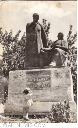 Image #1 of Târgu Mureș - Bolayi Farkas and Bolayi Janos Monument (1965)