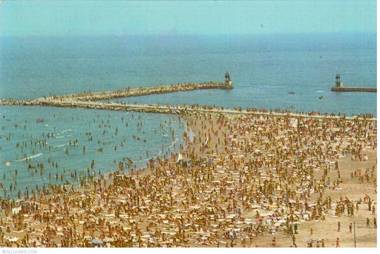 Constanta beach constan a romania postcard 30038 for Country plans com