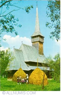 "Image #1 of Rozavlea - Wooden church dedicated to ""Archangels"""