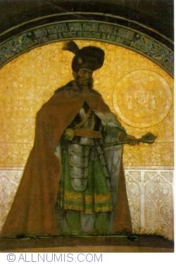 Image #1 of Alba Iulia - Michael the Brave, fresco by C. Petrescu