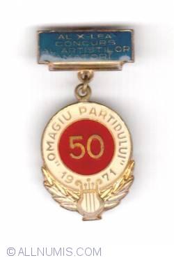 Omagiu Partidului-Amateur contest 1971