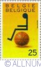 Image #2 of 25 Francs 1990 - Wheelchair-Basketball