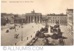 Berlin - Brandenburger Tor m. Pariser Platz