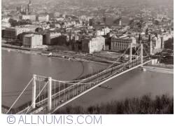 Budapest - Elisabeth Bridge aerial view