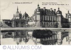 Image #1 of Chantilly Castle - View form the Flower Garden - Vue prise du Parterre