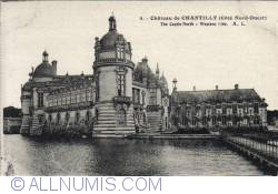 Image #2 of Chantilly - The Castle North-Western Side -  Côte Nord-Ouest
