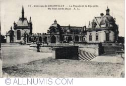 Image #2 of Chantilly Castle - The Front and the Chapel La Façade et la Chapelle