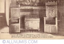 Image #1 of Castle Chaumont-sur-Loire - Camera Diane de Poitiers - Furniture from XV and XVI centuries -  Meubles XV et XVI siecles