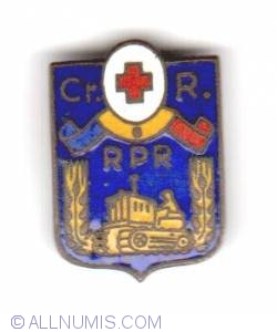 Crucea Roșie RPR 1948 (Red Cross)