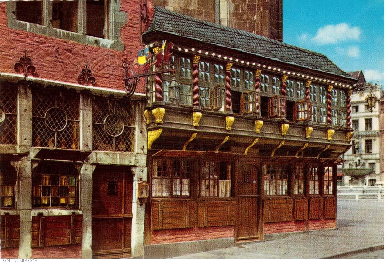 Bad Aachen aachen postwagen aachen germany postcard 21631