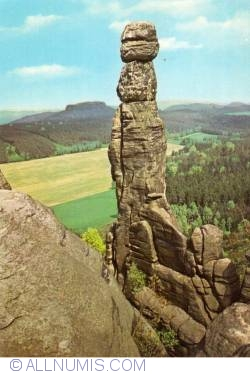 Image #2 of Elbe Sandstone Mountains - Barbarine (1980)