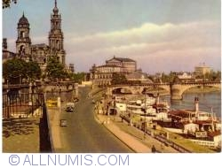 Image #2 of Dresden - Augustus Bridge and Catholic Church of the Royal Court of Saxony