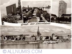 Image #1 of Dusseldorf - city views in black and white - 10 Ho