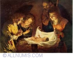 Image #1 of Gerard van Honthorst - Adoration of the Shepherds (Anbetung der Hirten)