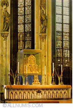 Image #1 of Köln (Cologne) - Cathedral - The Shrine of the Three Kings