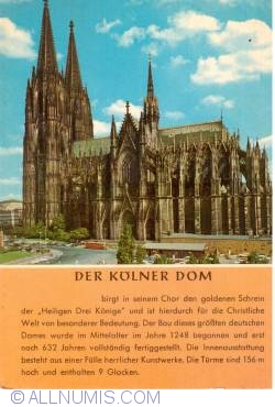 Image #1 of Köln (Cologne) - Cathedral from the south