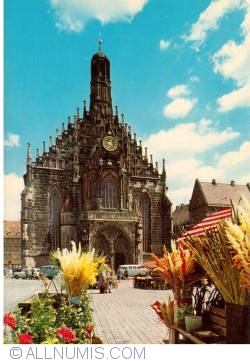 Nürnberg  - Church of Our Lady (Frauenkirche), east side of the Marketplace