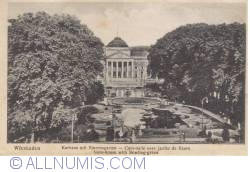 Image #2 of Wiesbaden - Kurhaus (spa house) and flower garden