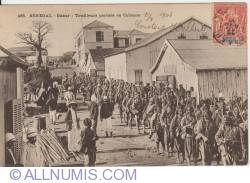 Image #1 of Dakar - Marching troops - 1906