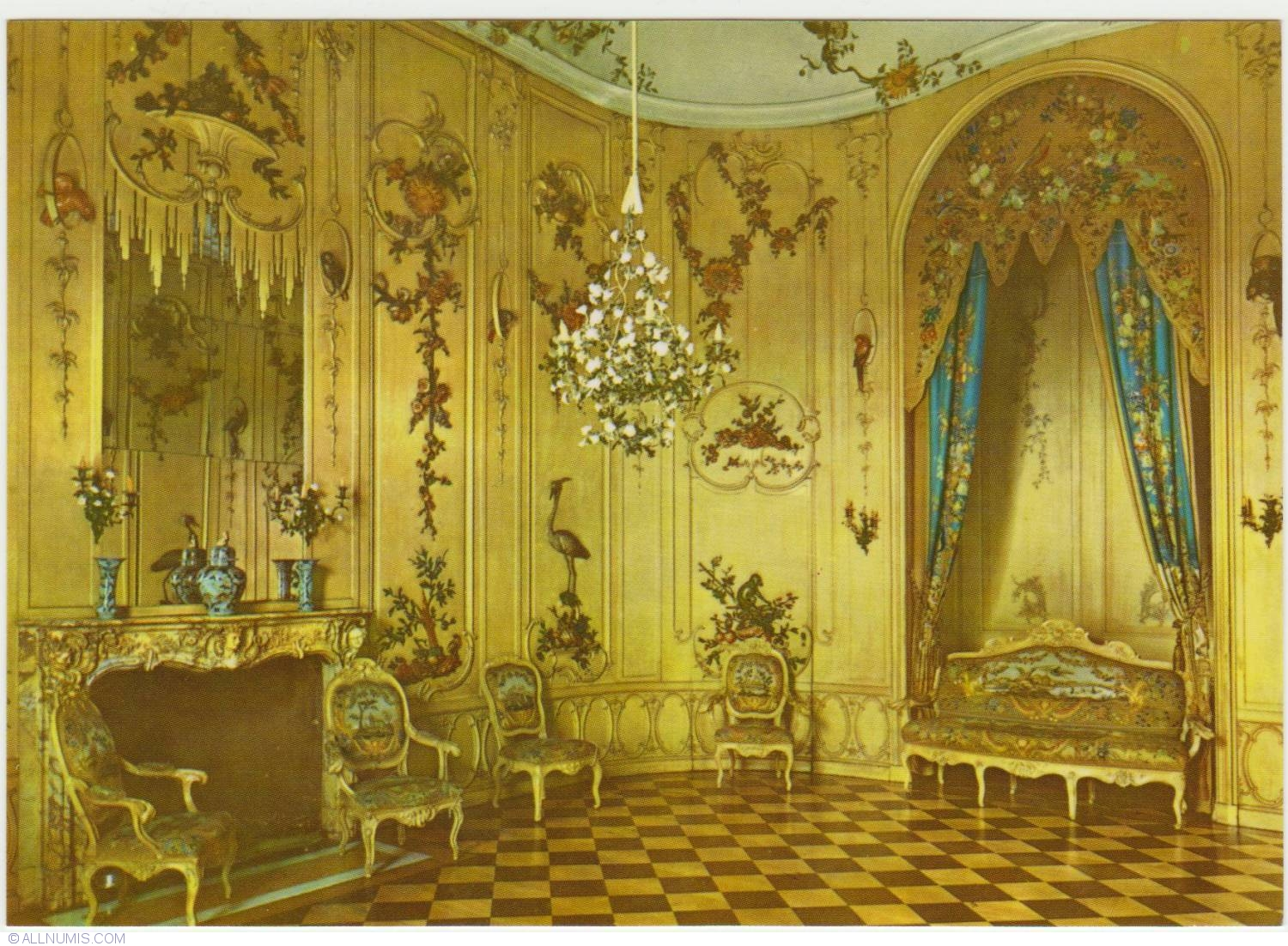 Potsdam sanssouci voltaire room potsdam german for Chambre chateau