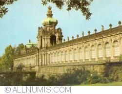 Dresden - The Zwinger Palace - Crown gate
