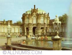 Dresden - Zwinger Palace - The Carillion Pavilion (Glockenspielpavilion)
