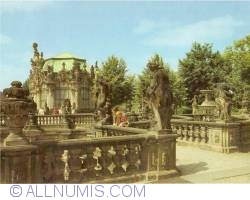 Dresden - Zwinger Palace - Terrace with the Wall Pavillion
