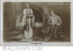 Image #2 of The Nibelungs - Volker Kriemhild gives the mantle - Kriemhild schenkt Volker den Mantel