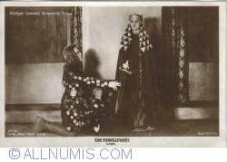 Image #1 of The Nibelungs - Rüdiger Kriemhild swears loyalty - Rüdiger schwört Kriemhild Treue