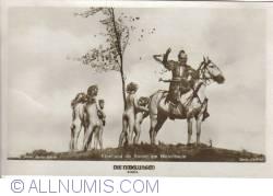 Image #1 of The Nibelungs - Etzel and the kids to the blood tree - Etzel und die Kinder am Blutenbaum