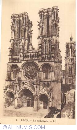 Imaginea #1 a Laon - Catedrala - La Cathédrale