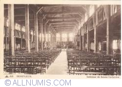 Imaginea #2 a Honfleur - Interiorul Bisericii Sainte-Catherine (Intérieur de Sainte-Catherine)