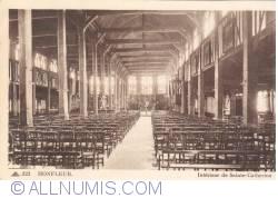 Imaginea #1 a Honfleur - Interiorul Bisericii Sainte-Catherine (Intérieur de Sainte-Catherine)