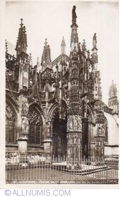 Image #2 of Louviers - Notre-Dame church south facade 149