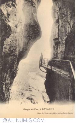 Imaginea #2 a Lovagny - Cheile de Fier (Gorges du Fier)