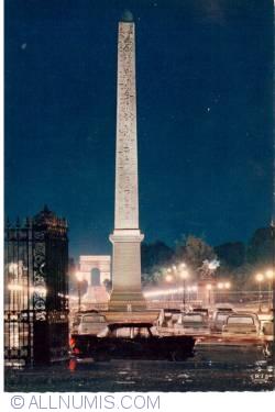 Image #1 of Paris - Obeliscu din Piaţa Concorde - Place de la Concorde - L'Obélisque