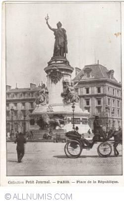 Imaginea #1 a Paris - Piața Republicii (Place de la République)