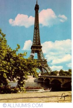 Image #1 of Paris - The Eiffel Tower and Seine (La Tour Eiffel et la Seine)