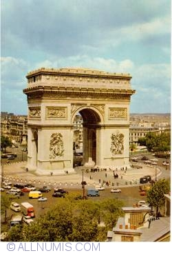Imaginea #1 a Paris - Arcul de Triumf - L'Arc de Triomphe